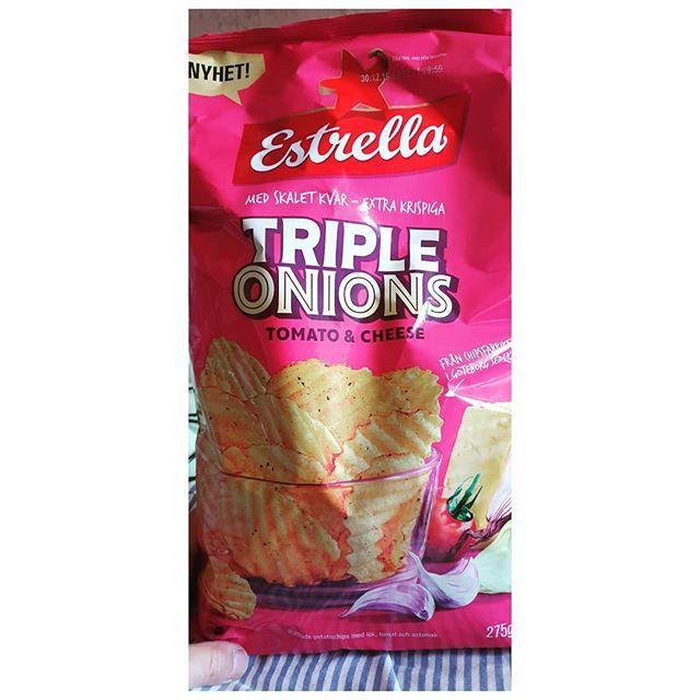 Triple Onions Estrella Tipleonions Cheese Chips Crispy New Nyheter Goteborg Sweden Estrella Vsco Vscocam Snack Recipes Snacks Food