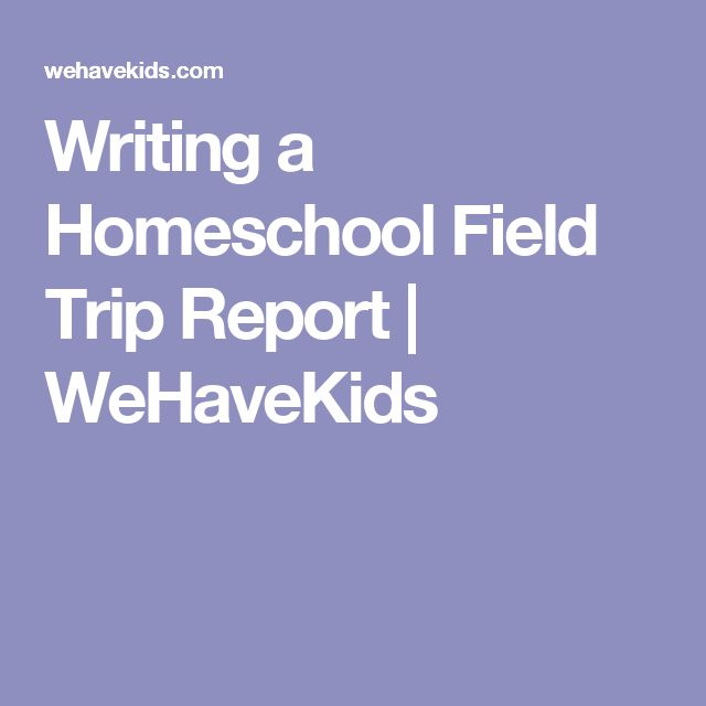 11 best Field trip images on Pinterest Classroom ideas, Field - trip report
