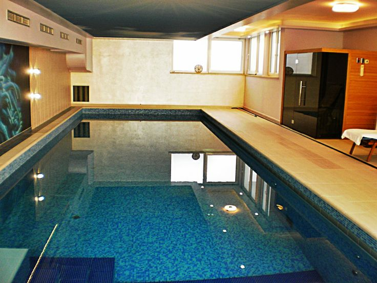 Our new project, private indoor swimming pool in Zaton, Croatia.  We like it! And sauna too.  More of our projects at: http://www.niveto.hr/