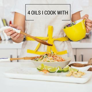 4 healthy oils I cook with