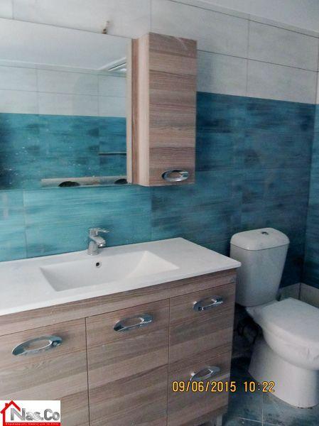 Ολική Ανακαίνιση σπιτιού στο Μπουρνάζι - Μπάνιο Πριν και Μετά