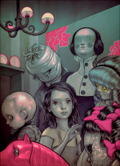 James Jean | Among the Dolls