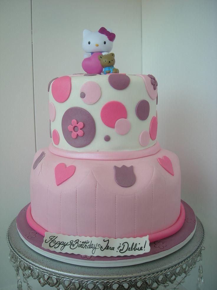 Cake Cake Cake Cake Cake Cake Cake Cake: Hello Kitty Cakes, Polka Dots, Hello Kitty Birthday, 21St Birthday, Hello Putty, Cute Cakes, Cakes Cakes, Cakes Danichris82, Birthday Cakes