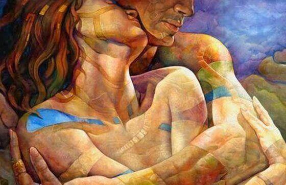 Atme tief ein und fürchte dich nicht, denn die wahre Liebe ist…