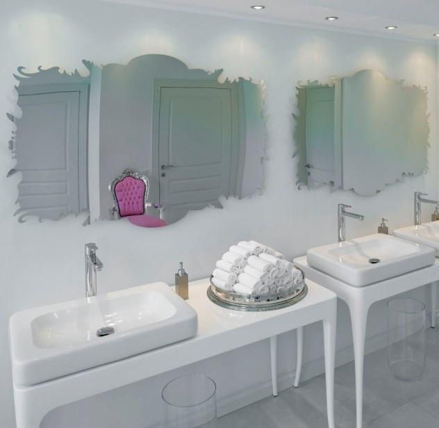 Bathroom in the conference hall at Dwór Oliwski Hotel # Gdansk # Poland