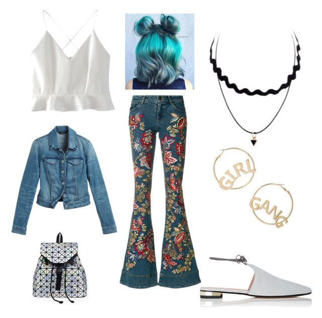 """""""Blue jeans"""" by gforfashion on Polyvore featuring Alice + Olivia, WithChic, White House Black Market, Barneys New York and BP."""