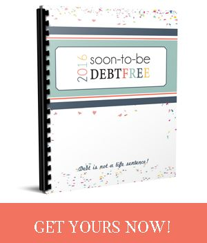 Happy Day, Everyone!! I have decided to release the 2016 Soon-To-Be Debt Free Workbook, a little early! I am absolutely loving the changes I have made to this version, and I hope that you will too!  This is going to be a pretty intensive post - taking you through the entire workbook. So ...