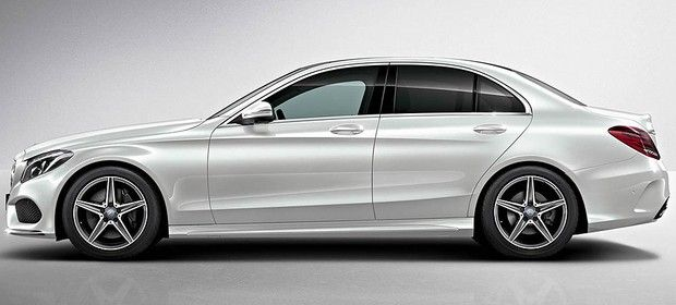 The new Mercedes C-Class AMG 2014.