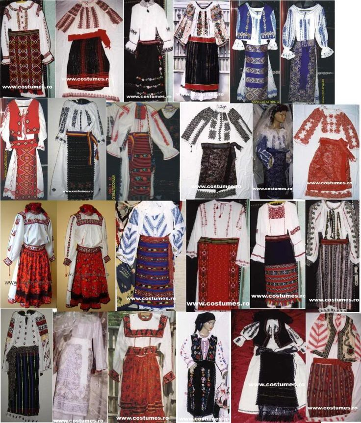 folk costumes.. Romania