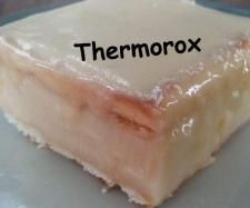 Recipe Vanilla Slice with Lattice Biscuits by Thermorox Sharon - Recipe of category Desserts & sweets
