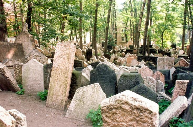 Antigo Cemiterio Judeu - Praga.