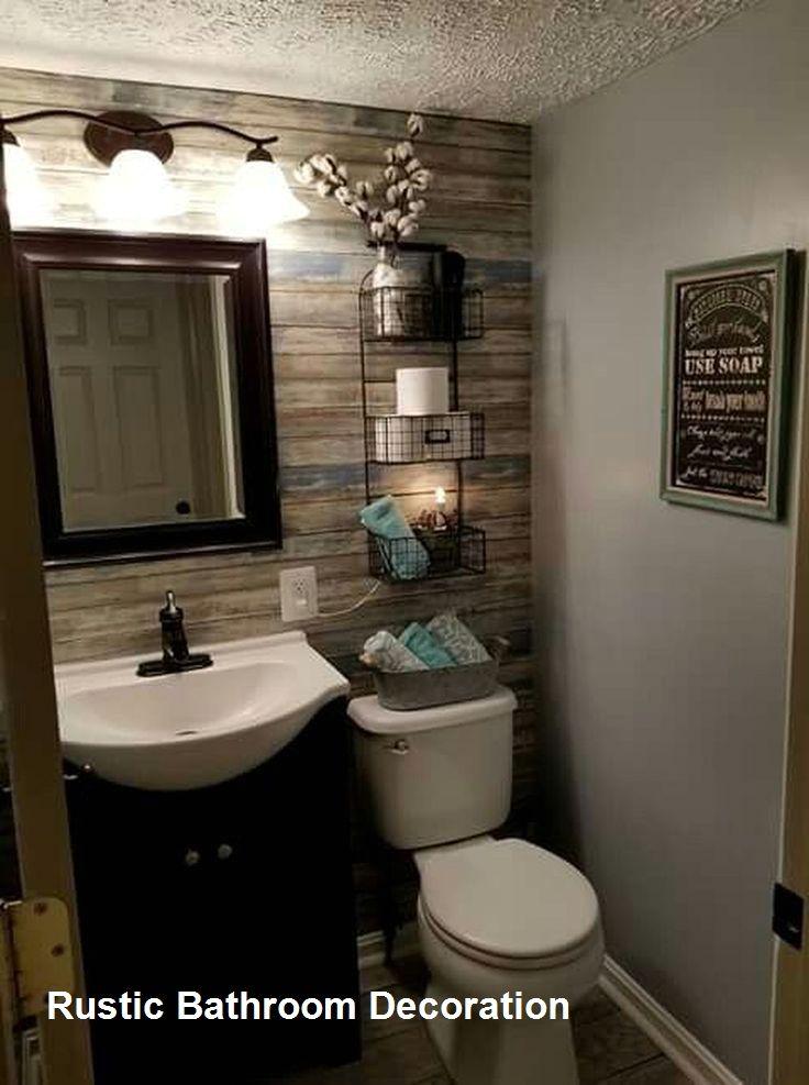 Rustic Bathroom Ideas Farmhouse In 2020 Bathroom Remodel Small Budget Small Bathroom Remodel Cottage Bathroom Design Ideas