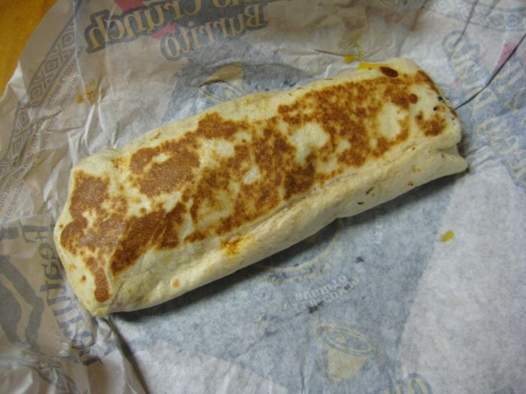 """Your review is in the #1 spot on Google when searching for """"taco cell chicken enchilada grilled stuft burrito,"""" so hopefully Taco Bell is listening to your review. Description from brandeating.com. I searched for this on bing.com/images"""