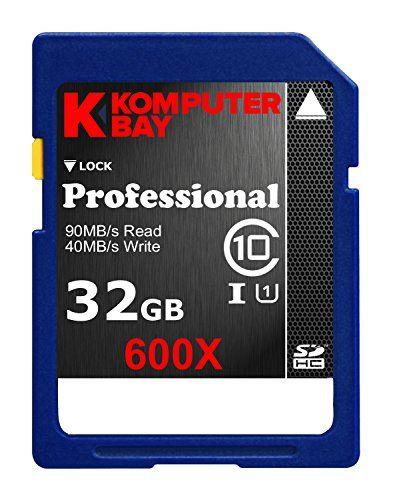 Komputerbay Carte mémoire SDXC: Komputerbay 64Go Classe 10 SDXC 53Mo/s UHS-I Ultra Haute Vitesse Carte Mémoire - garantie à vie Grande…