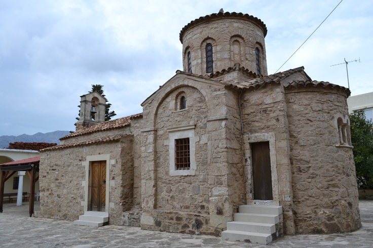 Miriokefala church.. 12th century, Crete