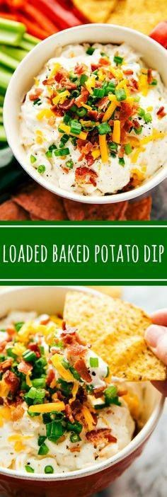 Delicious and simple Delicious and simple appetizer  a loaded...  Delicious and simple Delicious and simple appetizer  a loaded baked potato dip. All of your favorite baked potato toppings in appetizer form Recipe : http://ift.tt/1hGiZgA And @ItsNutella  http://ift.tt/2v8iUYW