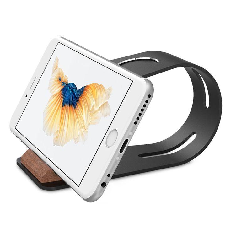 Charging Dock Charger Stand Holder Desktop For Apple Watch iPhone Aluminum New #ChargingDockChargerStandHolder