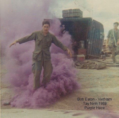 Purple Haze! Tay-Ninh, 1st Cav log pad, 2/19th Arty 1969 ...