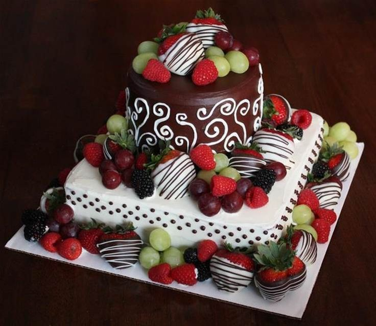 231 best cakes images on Pinterest Anniversary ideas Birthday