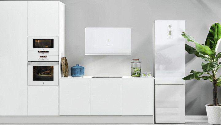 Cocinas Bonitas Que Demuestran Que Los Electrodomesticos Blancos