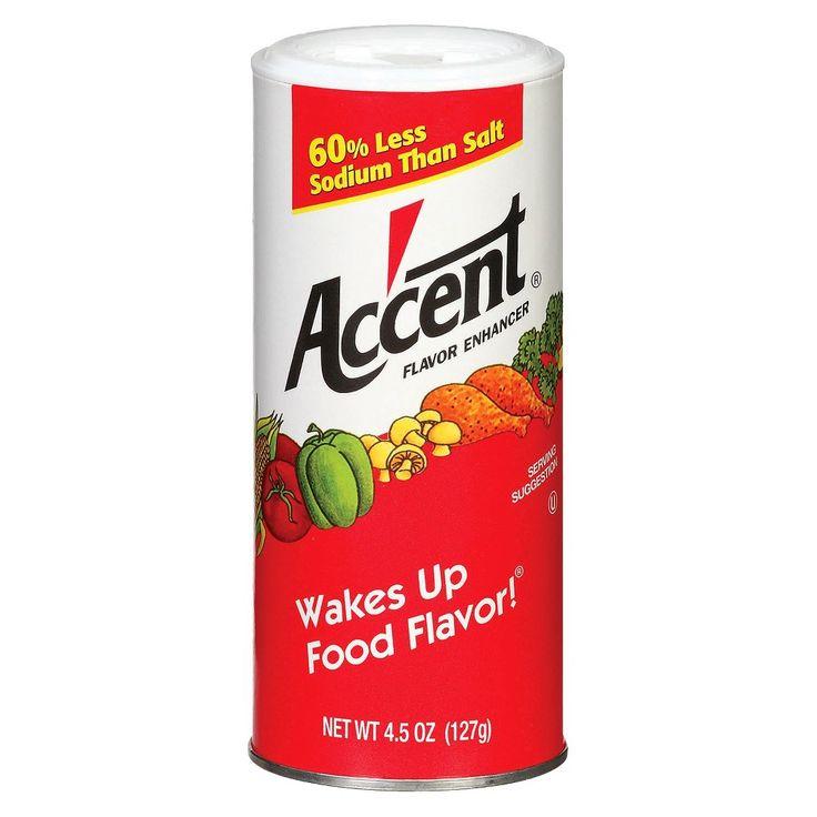 Accent Flavor Enhancer - 4.5oz | Flavor enhancers Flavors ...