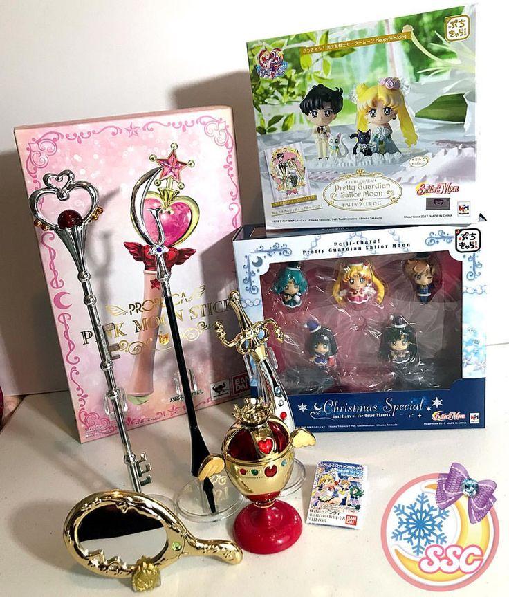 "667 Likes, 10 Comments - Sailor Samara's Collections (@sailor_samara) on Instagram: ""This week's spoils from eBay, Tokyo Otaku Mode and Crunchyroll!  #SailorMoonMerch…"""
