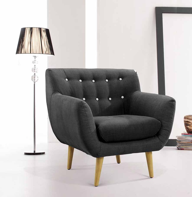 969 6ixty Armchair Charcoal For The Home Pinterest