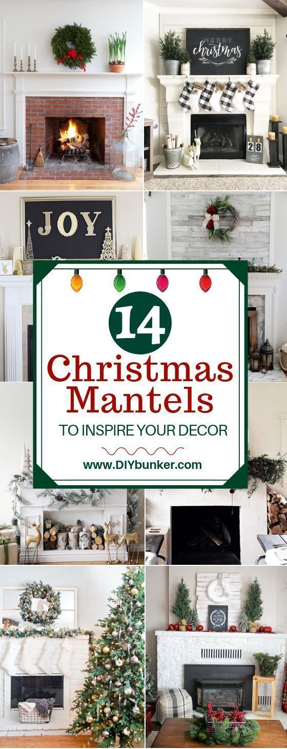 Mantel decorations for christmas thatull bring your fireplace to