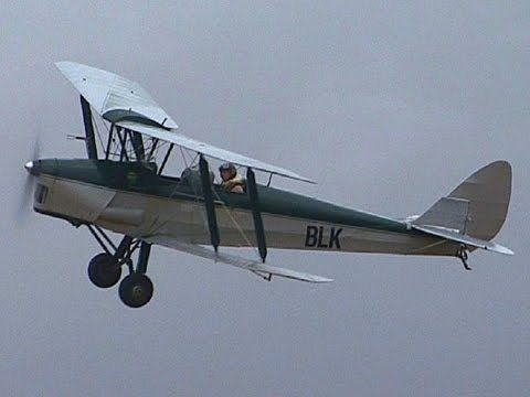Awesome Aerobatics in a Tiger Moth