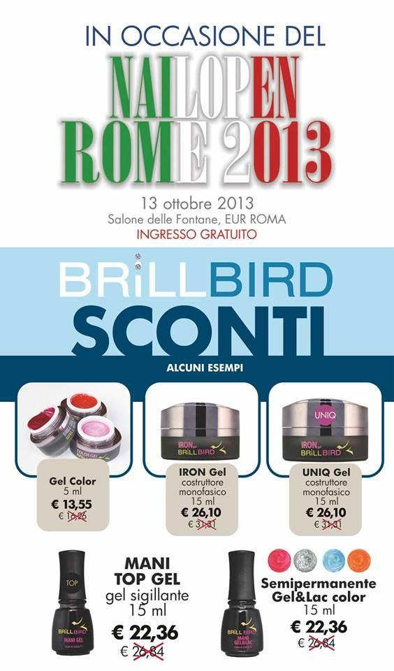 Siamo presenti al NailOpen Rome 2013 - 13 Ottobre - we will be at NailOpen Rome 2013 13 October