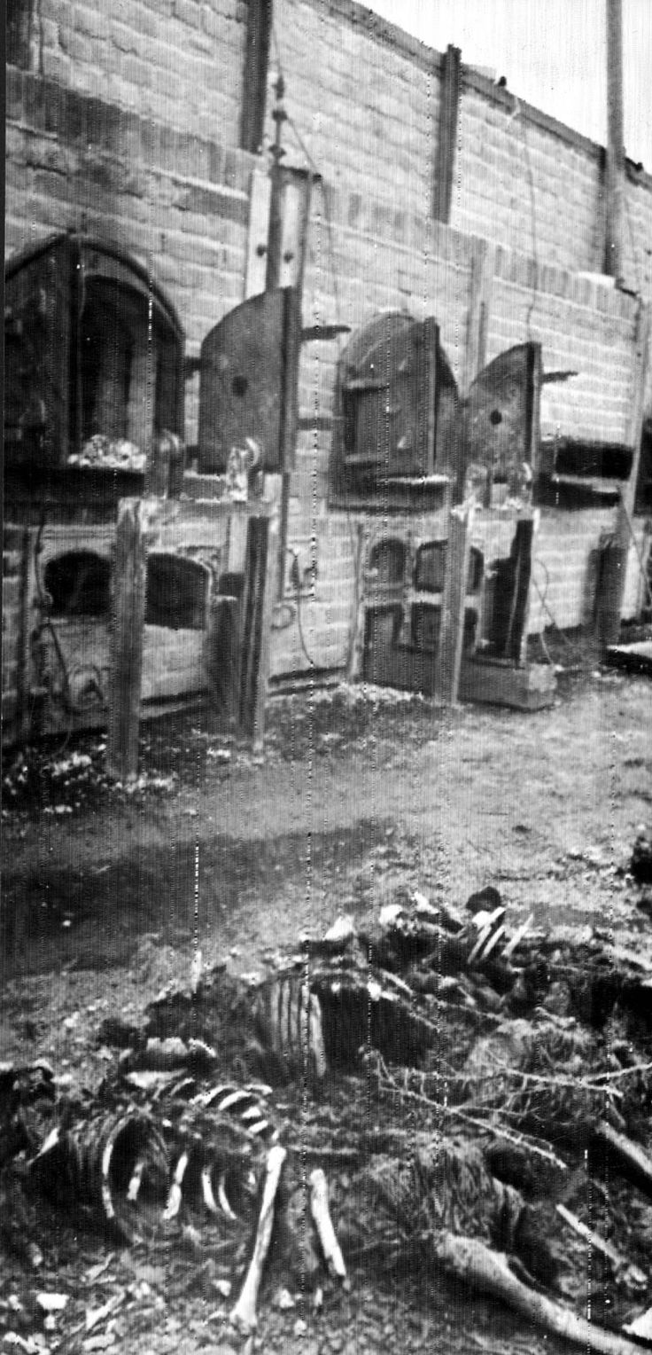 Lublin, Poland Ovens in camp after the liberation 1944 World War Two