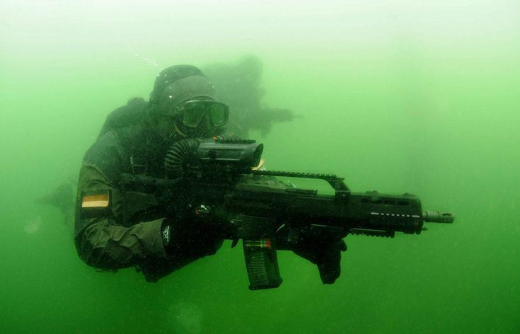 bundeswehr special forces kampfschwimmer german armed forces german army gunblr hk g36 - picslist.com