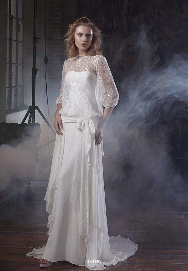 Robe de mariée vintage Elisabetta Polignano Collezioni 2015 #weddingdress #bridaldress #vintagebride