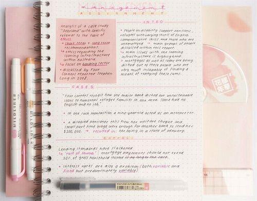 Картинка с тегом «study, college, and notes»