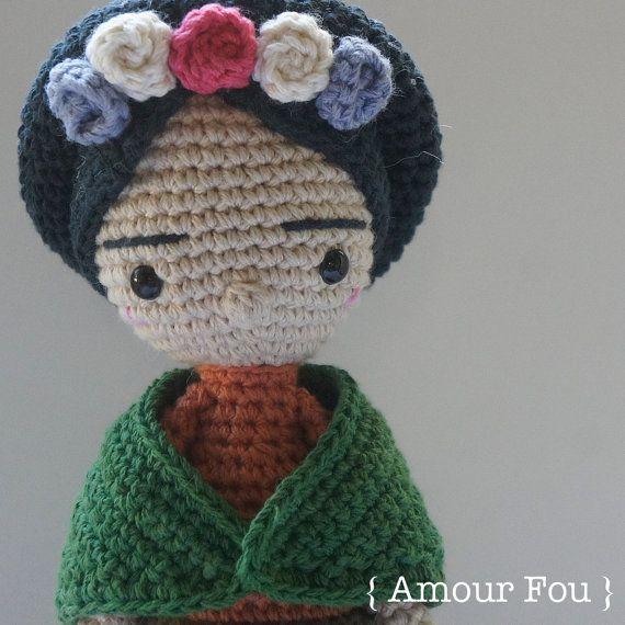 Frida Crochet Pattern by Amour Fou от AmourFouCrochet на Etsy