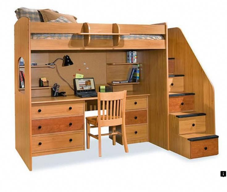 Learn More About Loft Bed With Stairs And Dresser Simply Click