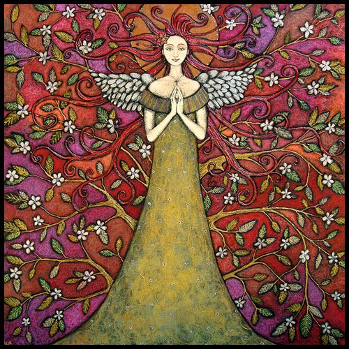 angel folk art - Google Search | Angel Art | Pinterest