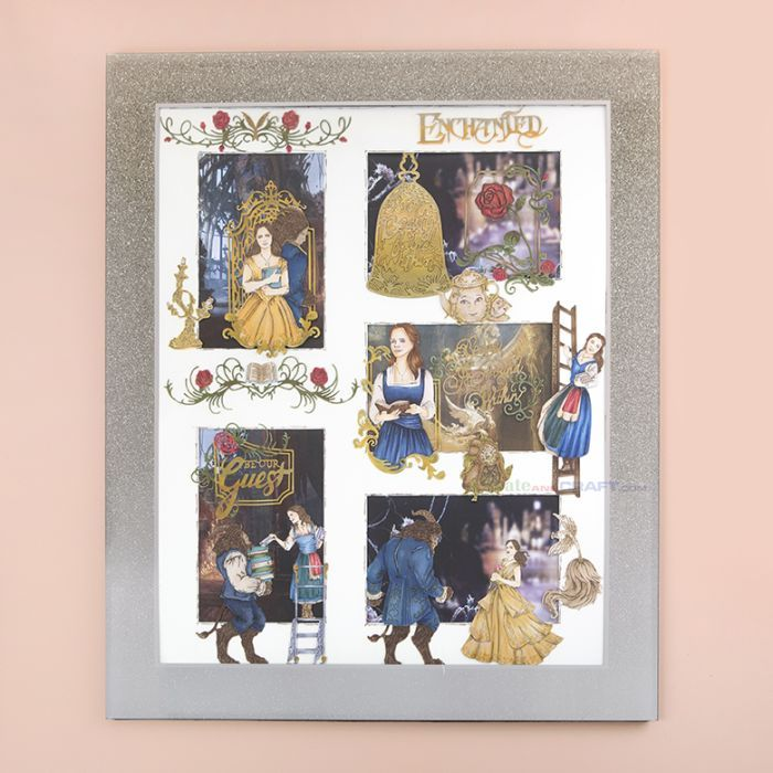 Disney Beauty and The Beast project by Melanie Heaton. Shop the range on our Website!
