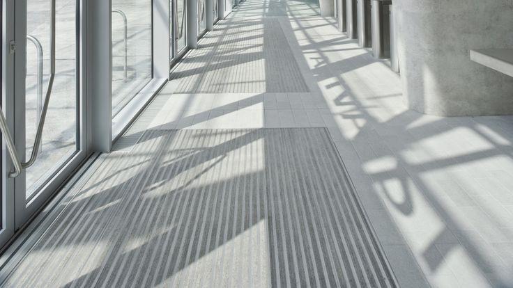 Barierele de praf Forbo - utilizate in zonele de acces in cladire, vor impiedica mizeria sa patrunda la interior http://www.profloor.ro/pardoseli/bariere-de-praf/
