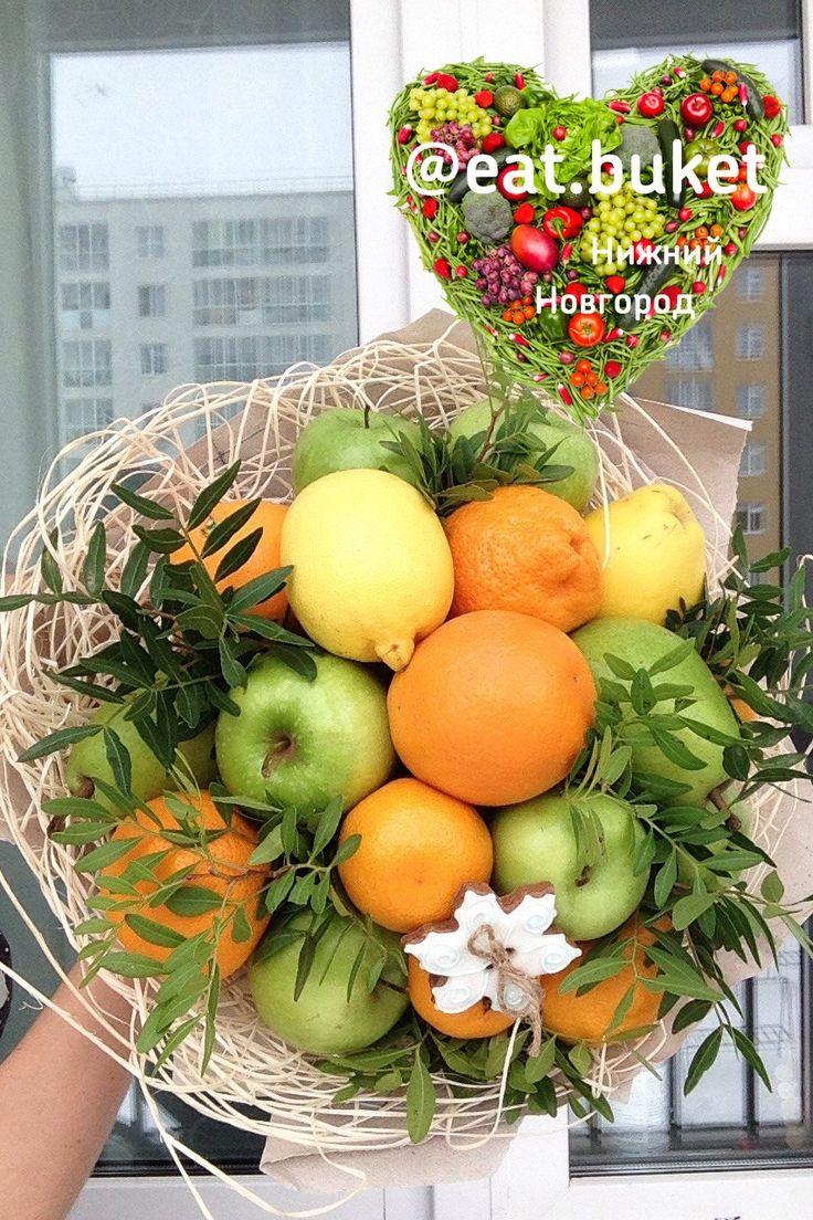 фруктовый букет в Нижнем Новгороде на заказ прием заказов из фруктов