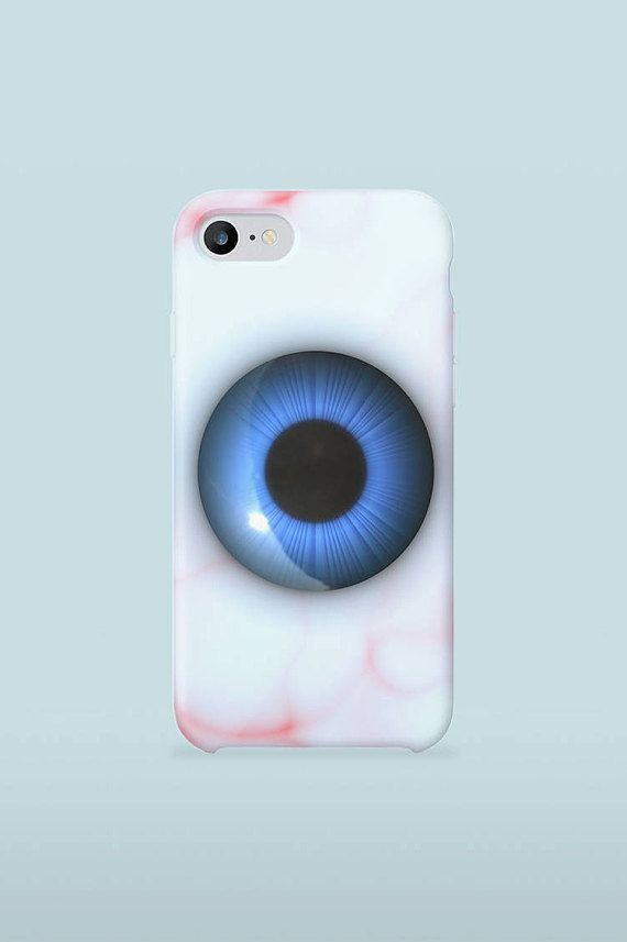 Human Blue Eye Mobile Case Art Medical design for iphone samsung 3D Print full wrapped hard plastic back shell for mobile device  iPhone 4 / 4S iPhone 5 / 5S iPhone 5C iPhone SE iPhone 6 iPhone 6S iPhone 6 Plus iPhone 6S Plus iPhone 7 iPhone 7 Plus  Samsung Galaxy S5 / S5 mini Samsung