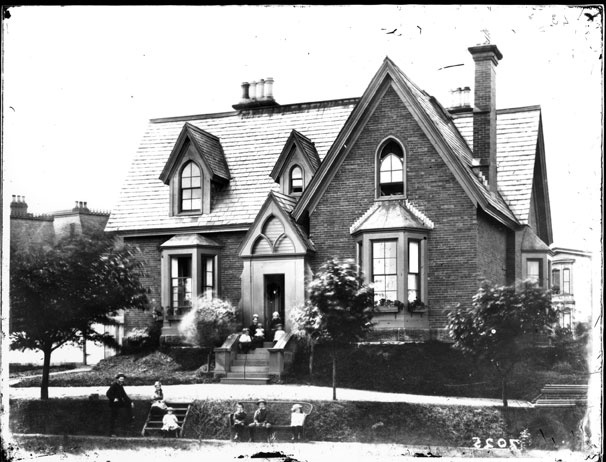 Grigor Residence, Corner of Victoria Road and Bland Street, Halifax ca 1879