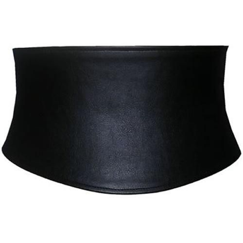 Ladies Wide Black Waist Belt | Corset Belts from The Latest Thing