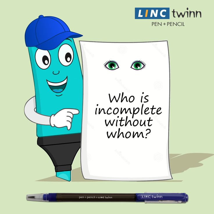They are always together when it comes to writing. Can you guess them? #GuessTheName #LincPens #Pens #LincTwinn