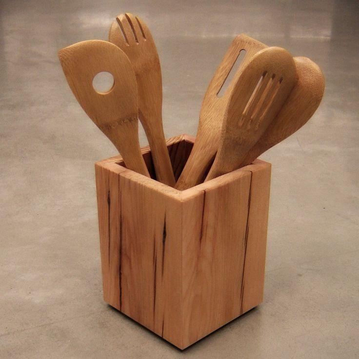 17 best ideas about wood shop organization on pinterest shop organization workshop - Unique kitchen utensil holder ...