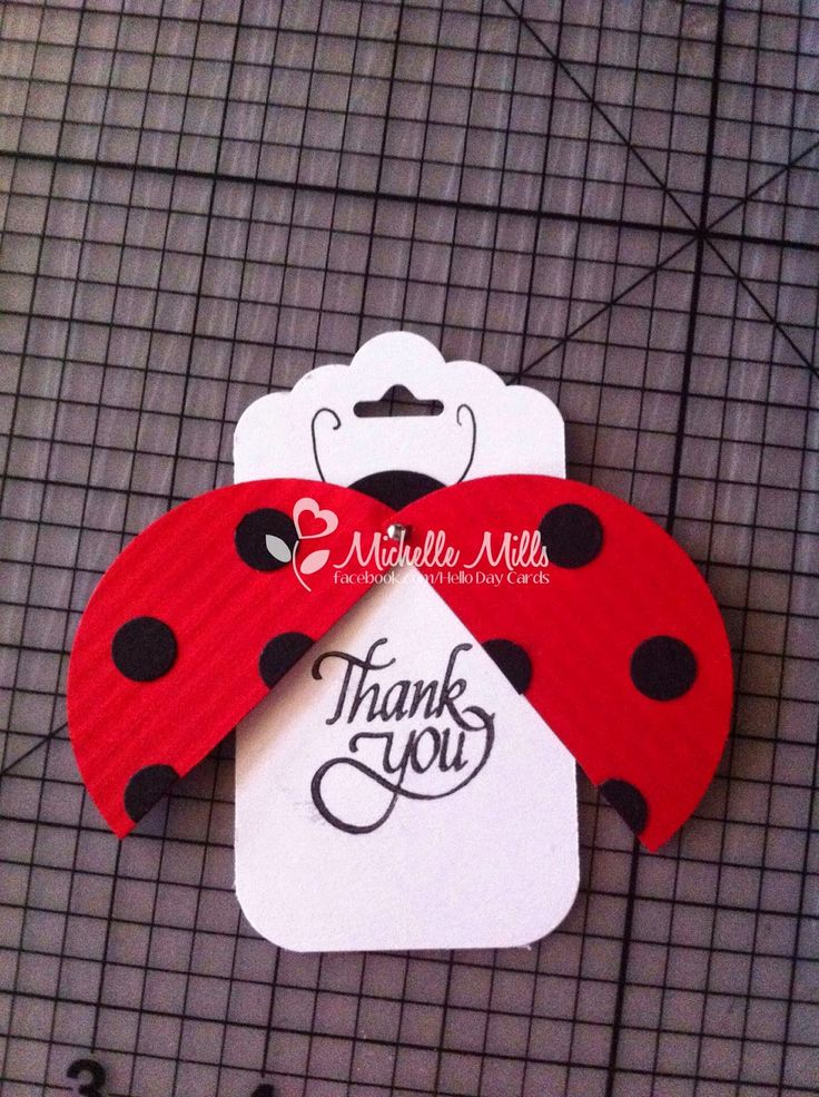 Michelle Mills - Stampin Up demonstrator Brisbane, Australia Such a cute idea. I'd make this and attach it to a small plant as a gift!