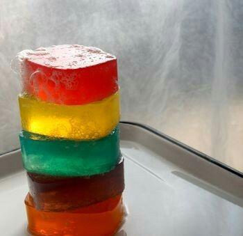 Colorful glicerine soaps