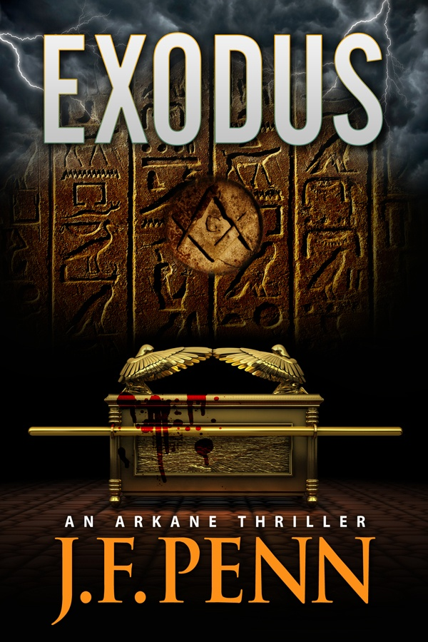 Exodus, ARKANE Thriller 3. A hunt for the Ark of the Covenant as the Middle East counts down to a religious war.