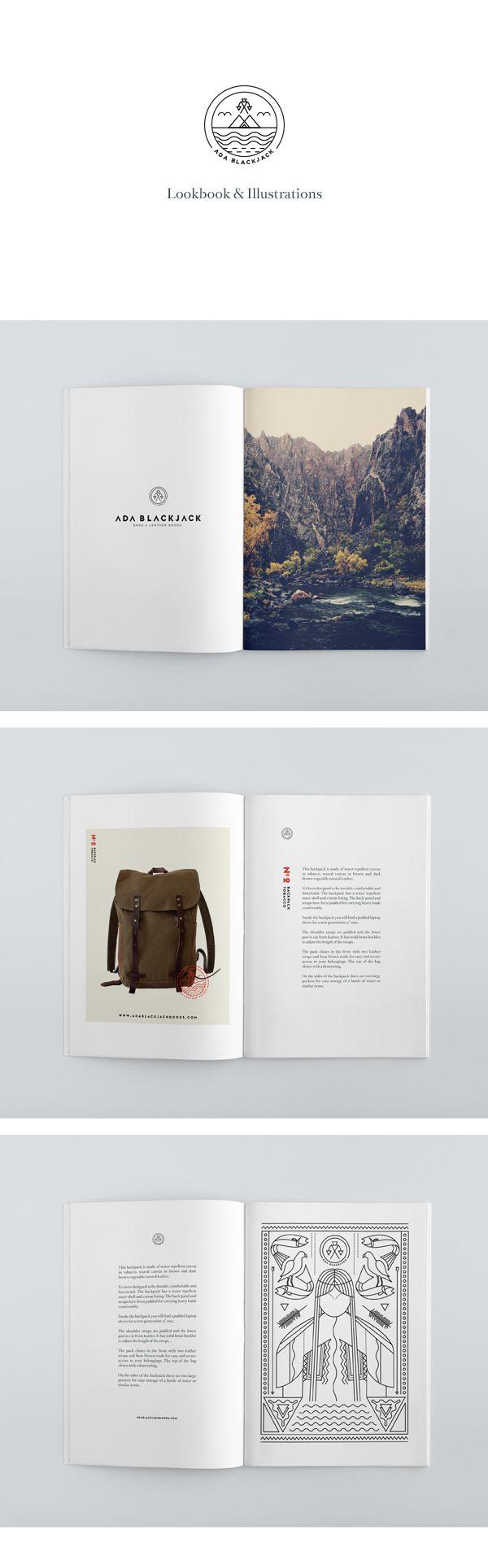 Ada Blackjack - Brand Identity by Tobias van Schneider, via Behance