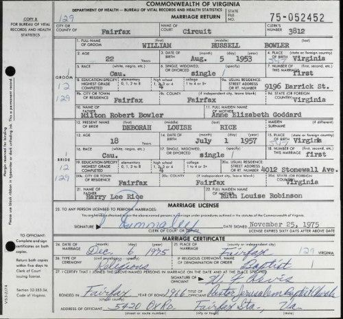 Virginia Divorce Records: 133 Best Images About Bowler Family (Grandma) On Pinterest